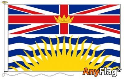 - BRITISH COLOMBIA ANYFLAG RANGE - VARIOUS SIZES